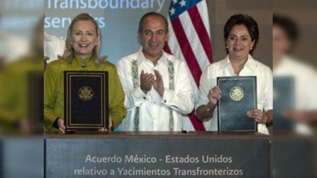 México y Estados Unidos firman un acuerdo petrolero