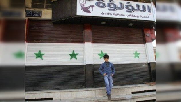 Los días negros de la economía siria