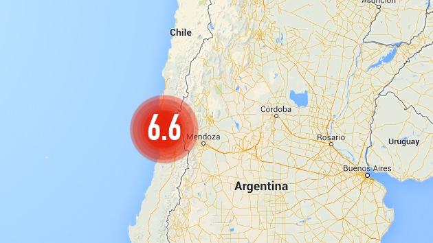 Un sismo de magnitud 6,6 sacude Chile