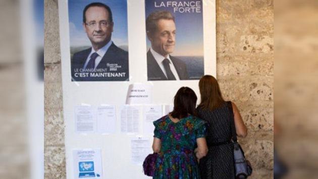 Francia elige hoy entre Sarkozy y Hollande: seguir a Alemania o cambiar el rumbo de Europa