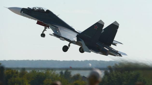 Rusia duplica el número de aviones de combate en su base aérea de Asia Central