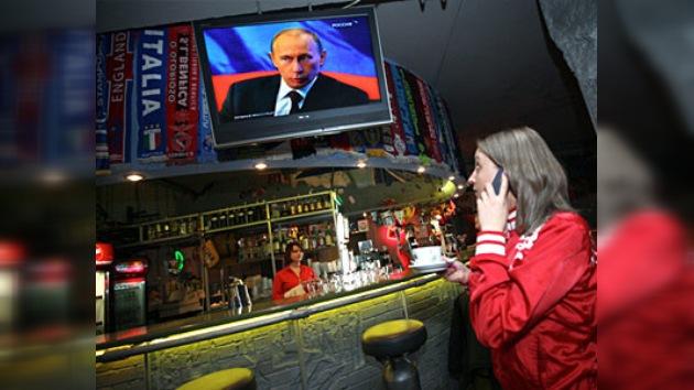 Putin dialogó con los ciudadanos rusos
