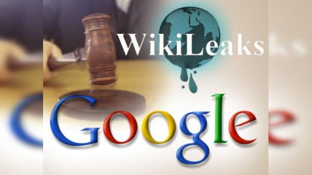 EE.UU. obliga a Google a revelar datos de voluntarios de WikiLeaks