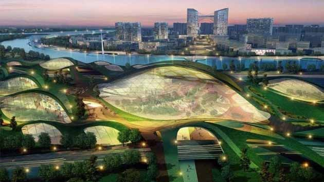 China construye la primera ciudad ecológica del mundo