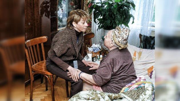 Conocida filántropa rusa reintegra a los desamparados a la sociedad