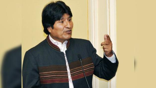 Evo Morales solicita inversiones extranjeras en el gas boliviano