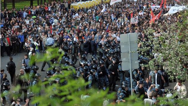 Putin aprueba nueva ley sobre manifestaciones en Rusia