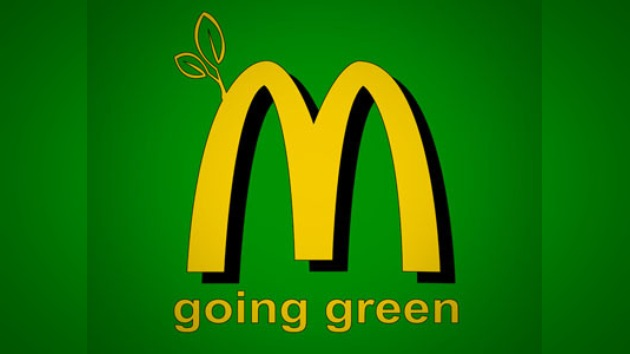 McDonald's se hizo... ¡verde!