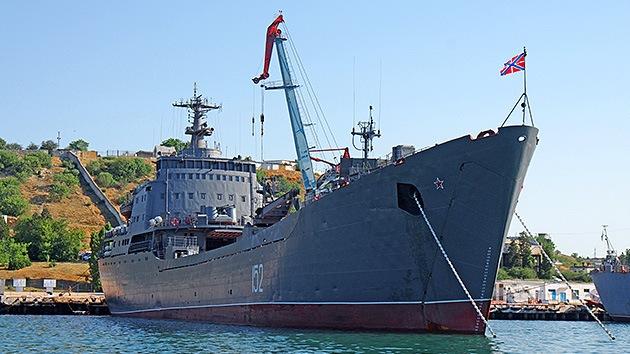 Rusia niega que sus buques de guerra estén listos para zarpar rumbo a Siria