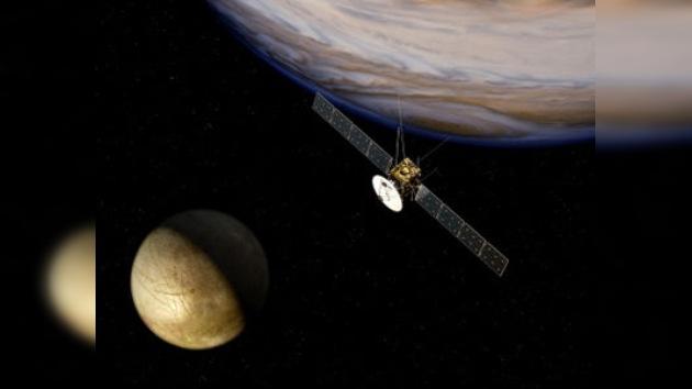 La Agencia Espacial Europea buscará restos de vida en las lunas heladas de Júpiter