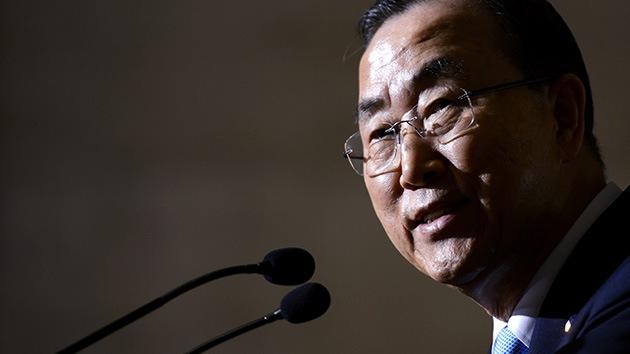Ban Ki Moon propone crear misión conjunta sobre las armas químicas de Siria con una base en Chipre