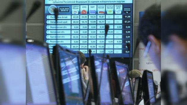 Rusia Unida gana las elecciones regionales en Rusia
