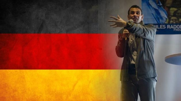 Alemania apoya a la oposición venezolana