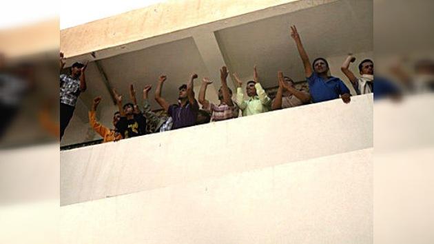 La Universidad de Saná, asaltada por los manifestantes yemeníes