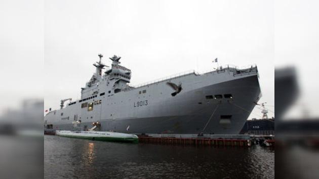 Rusia y Francia acuerdan construir conjuntamente buques clase Mistral