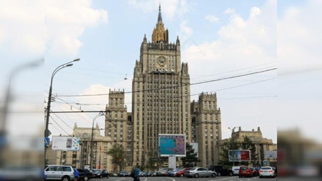 Rusia no participará en la reunión de ´amigos de Siria´