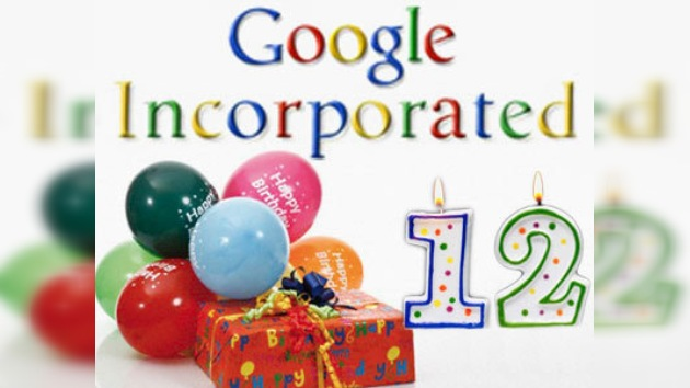 Google celebra sus 12 años de existencia