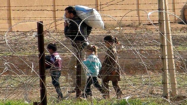 ONU: Unos 11.000 sirios abandonaron su país en las últimas 24 horas