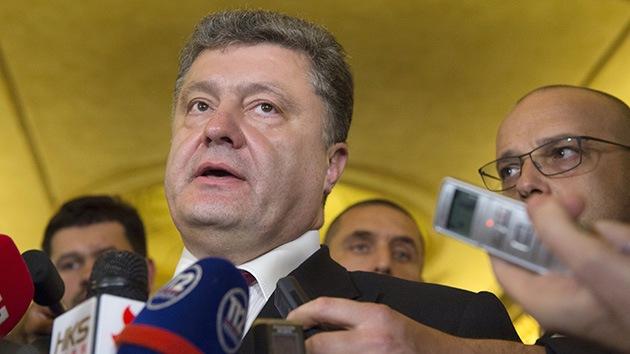 """Poroshenko: """"Ucrania y Rusia acordaron el costo del gas para el invierno"""""""