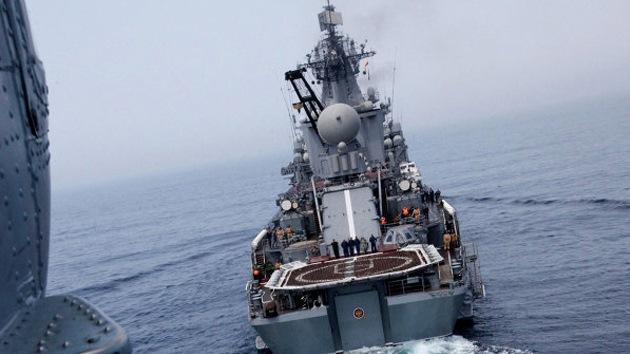 Rusia y China realizarán ejercicios navales conjuntos a finales de mayo