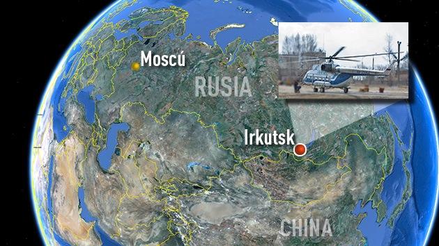Rusia: Se estrella un helicóptero MI-8 con dos toneladas de explosivos