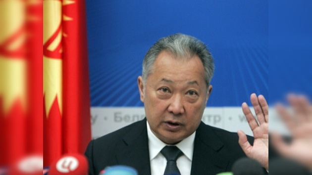 Bakíev volverá, pero no como presidente