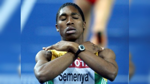 Caster Semenya solo pudo ser novena en torneo en Italia