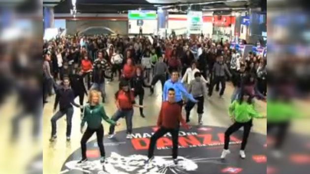 Michael Jackson baila en el metro de Madrid