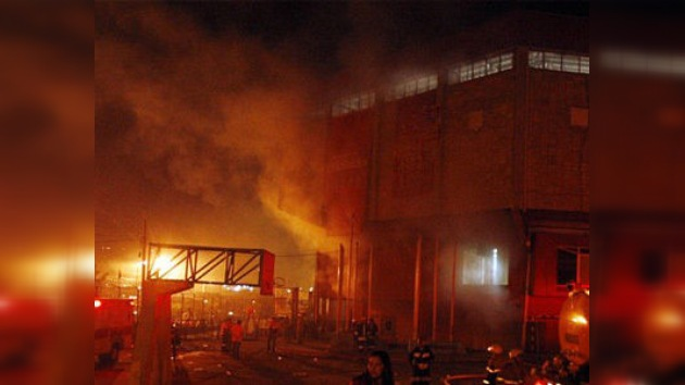 Un centenar de muertos tras un incendio en una cárcel de Honduras