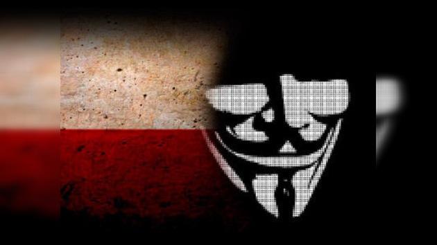 Venganza sin fin: Anonymous ataca sitios gubernamentales de Polonia