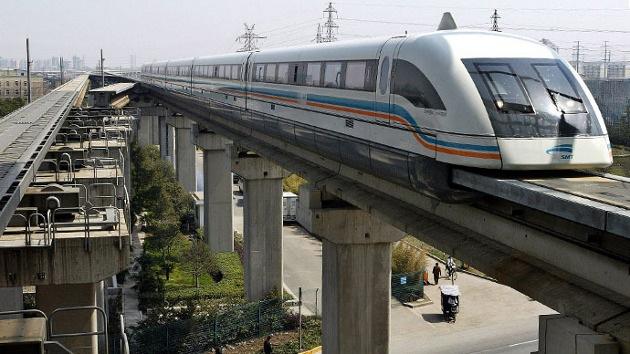 China prueba un tipo de tren que podría alcanzar los 3.000 kilómetros por hora
