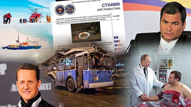 Balance semanal: ¿Por qué se dieron los atentados en Volgogrado? ¿Sobrevivirá Schumacher? Y, ¿quién mató a Chávez?