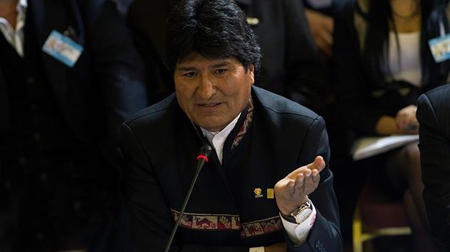 Carga legal de Bolivia contra el espionaje de EE.UU.: Morales pide una demanda regional