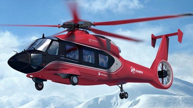 Rusia presentará en EE.UU. su avanzado helicóptero de transporte Ka-62