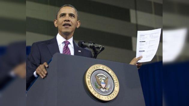 Obama lleva al Congreso su 'tejado' para hogares hipotecados