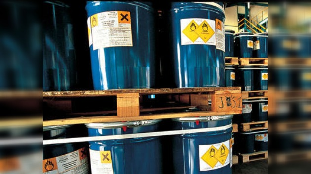 Ecologistas protestan por el envío de residuos tóxicos a Rusia