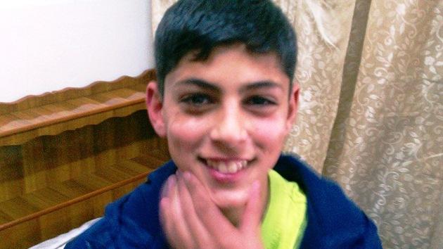 Niño palestino-estadounidense, encarcelado en una prisión israelí para adultos