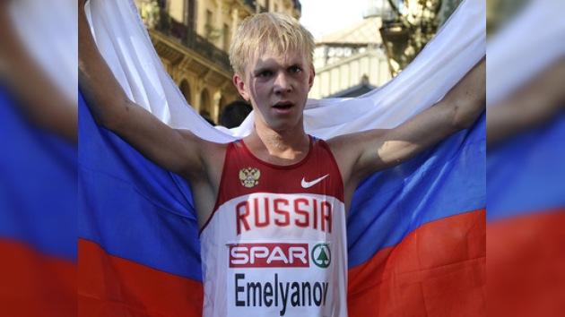 Yemeliánov conquista el primer oro del Campeonato de Europa de Atletismo