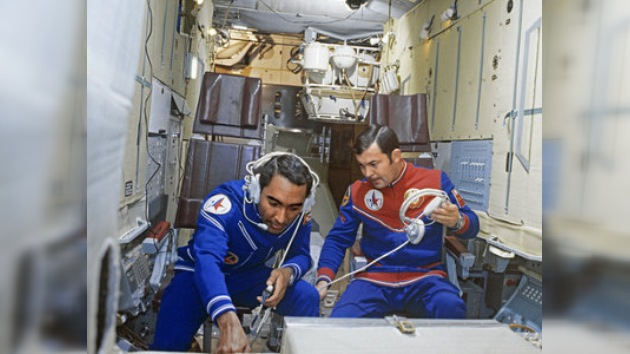 La 'gira terrestre' del vuelo espacial cubano-soviético