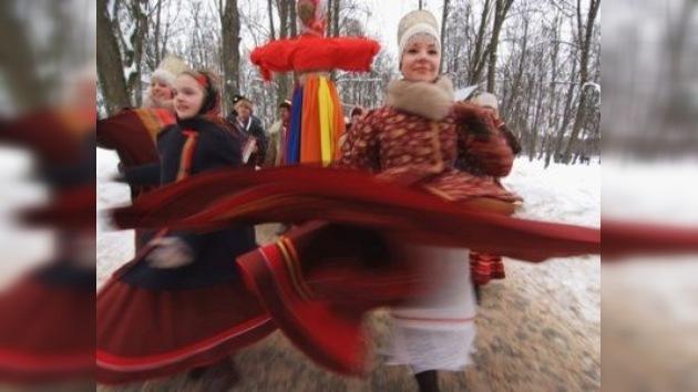 Máslenitsa: Rusia despide el invierno