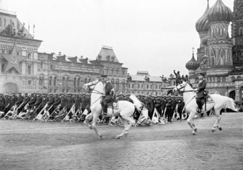 Desfile del Día de la Victoria el 24 de junio de 1945 en Moscú