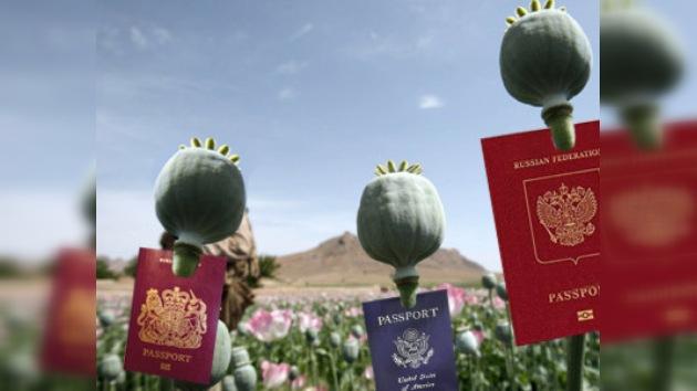 Drogas afganas, peligro internacional