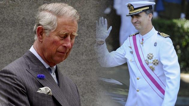 """Rey de España: """"No quiero que mi hijo se marchite como el príncipe Carlos"""""""