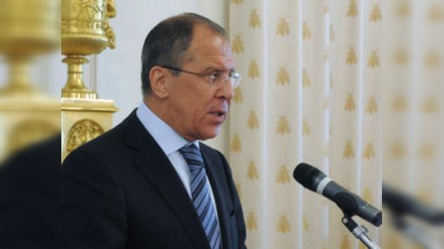 Lavrov y Ban Ki-moon discuten cómo ayudar a Libia