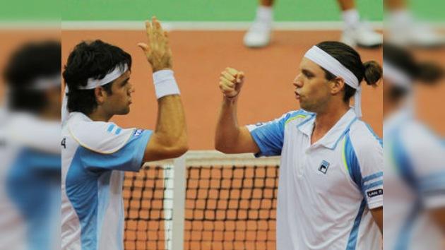 Copa Davis: Argentina se coloca por delante tras derrotar a Rusia 1-2