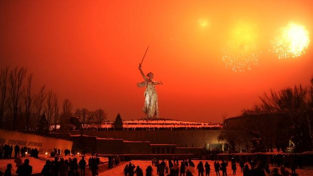 Rusia en el 70 aniversario de Stalingrado