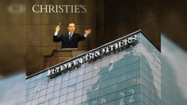 Se subastan las obras de arte del banco Lehman Brothers