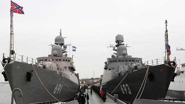 La Armada de Rusia comprará 36 buques de guerra en 2013