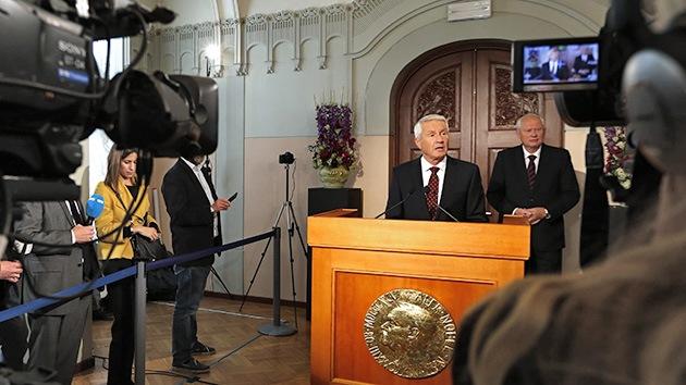"""""""El Comité tomó la decisión fácil de premiar a la OPAQ"""" con el Nobel de la Paz"""