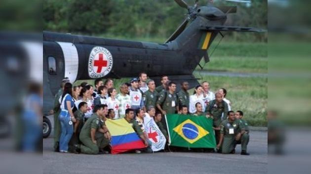 Liberados los últimos diez rehenes uniformados de las FARC